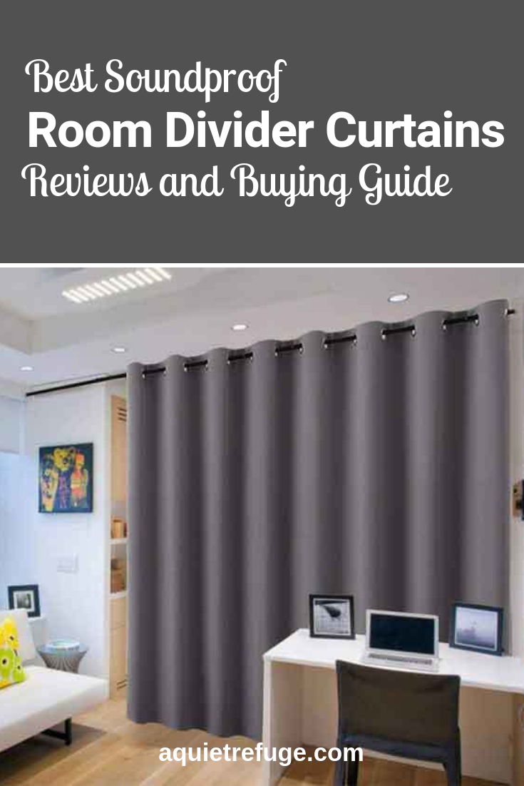 Best Soundproof Room Divider Curtains Reviews And Buying Guide Room Divider Curtain Soundproof Room Soundproof Room Diy