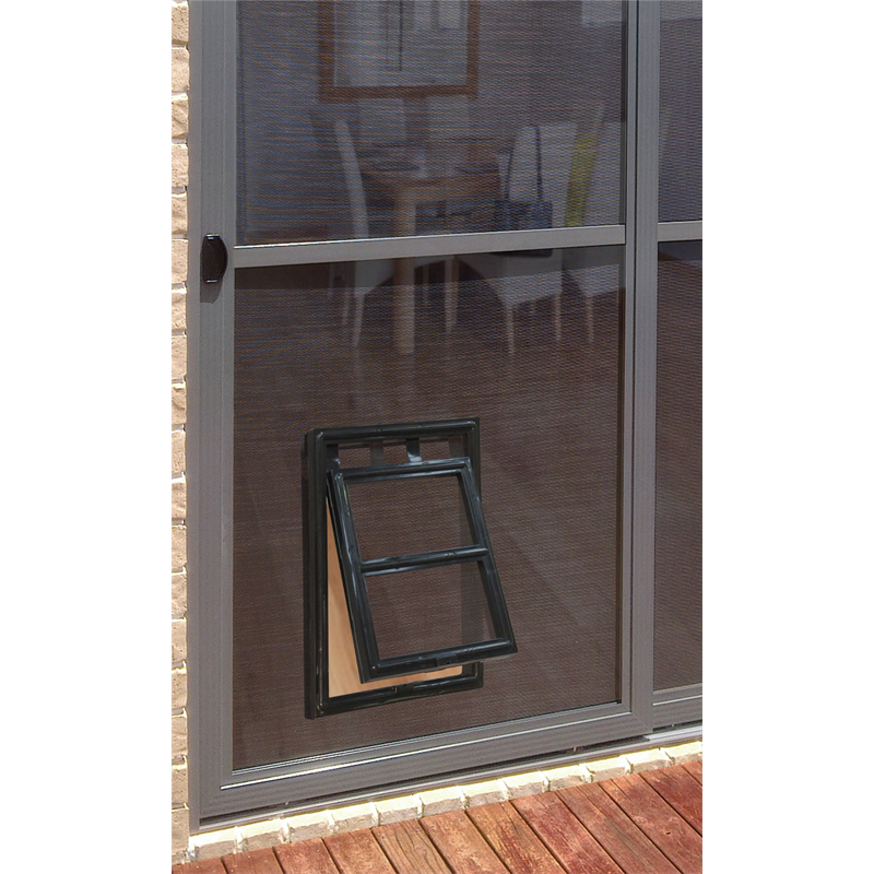 Purchased Fly Screen Cord Roller And Dog Door Now Installed