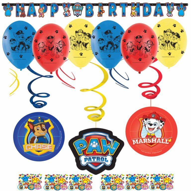 Paw Patrol Geburtstag » Deko, Spiele, Mitgebsel»daran