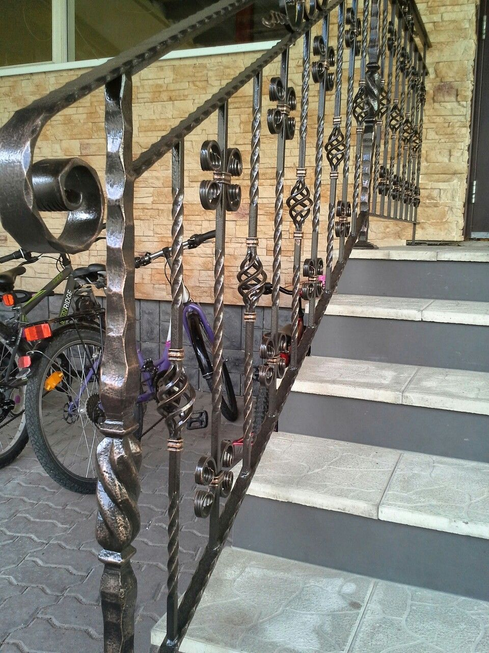 Best Pin By Andrei On Ковка Wrought Iron Stairs Gate Design 400 x 300