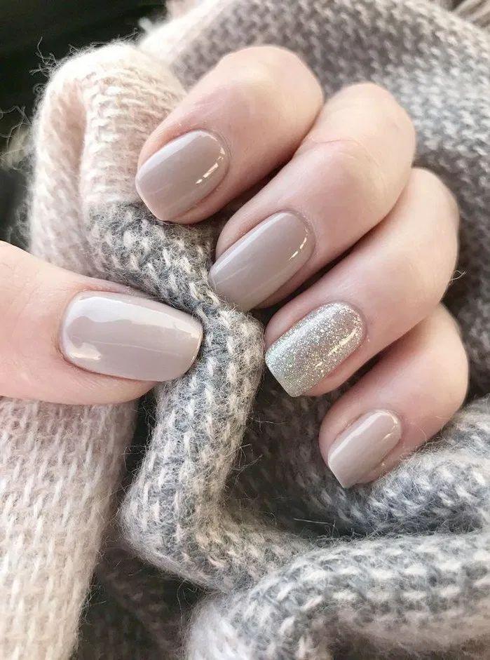 152 natural summer nails design for short square nails -page 18 > Homemytri.Com