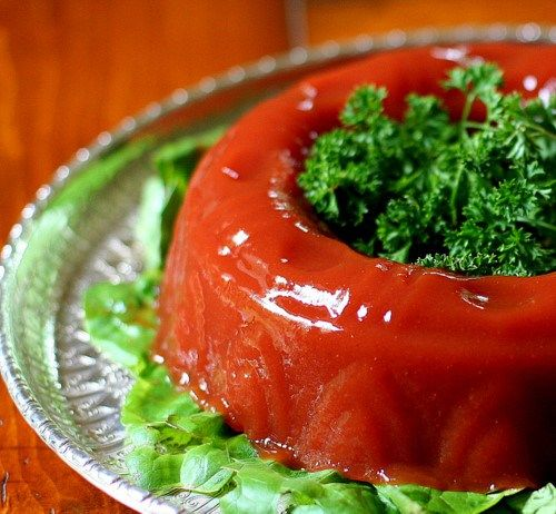 The Southern Funeral: Perre's Tomato Aspic   Appetizers