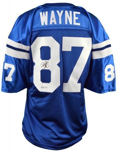 Reggie Wayne Signed Custom Jersey - JSA  SportsMemorabilia   IndianapolisColts 4db32bfff