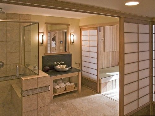 Japanese Bathroom - asian - bathroom - minneapolis - Orfield - casa estilo japones