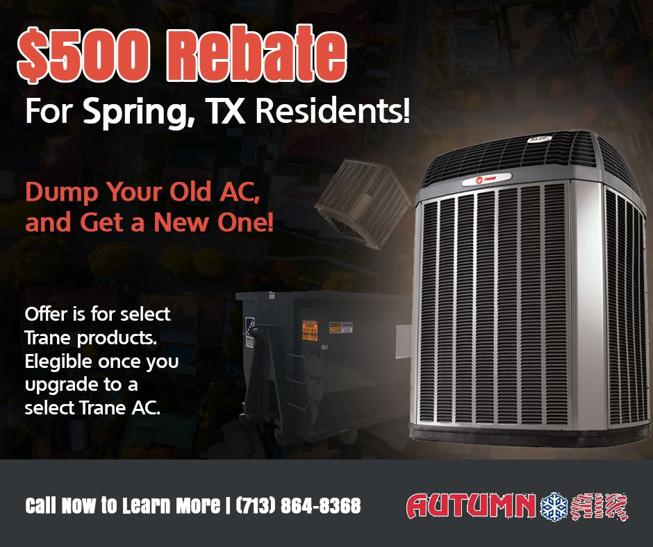 Ac Coupons And Discounts In Spring Tx Air Conditioning Services