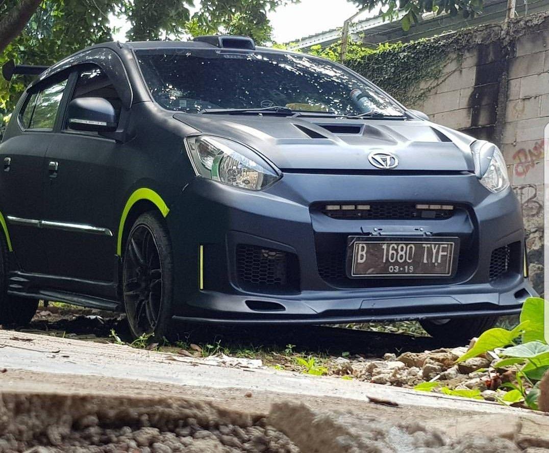 Modifikasi Mobil Ayla M Sporty | Modifotto