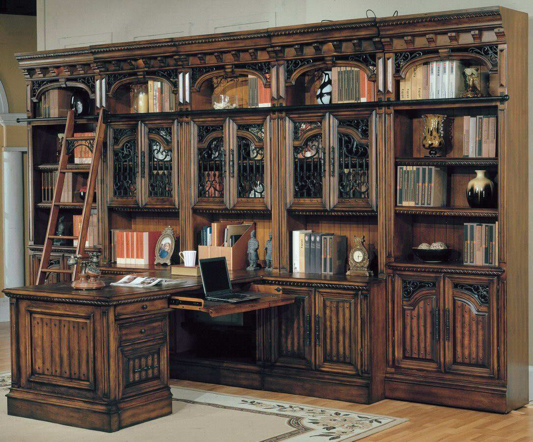Parker House Barcelona Home Office Suite Wall System Mix : $8,422.00