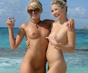 Hot brunette young naked girls