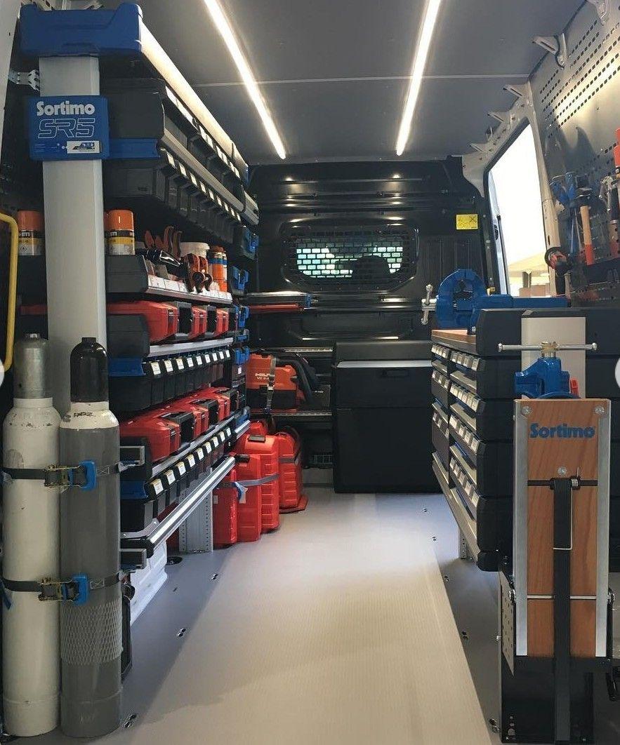49 Van Storage Ideas Van Storage Van Van Shelving