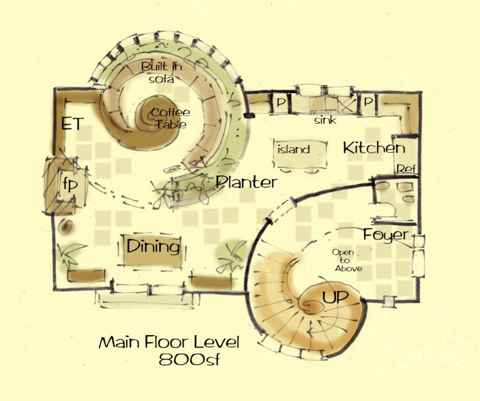 Castle house plan fibonacci for Small castle floor plans