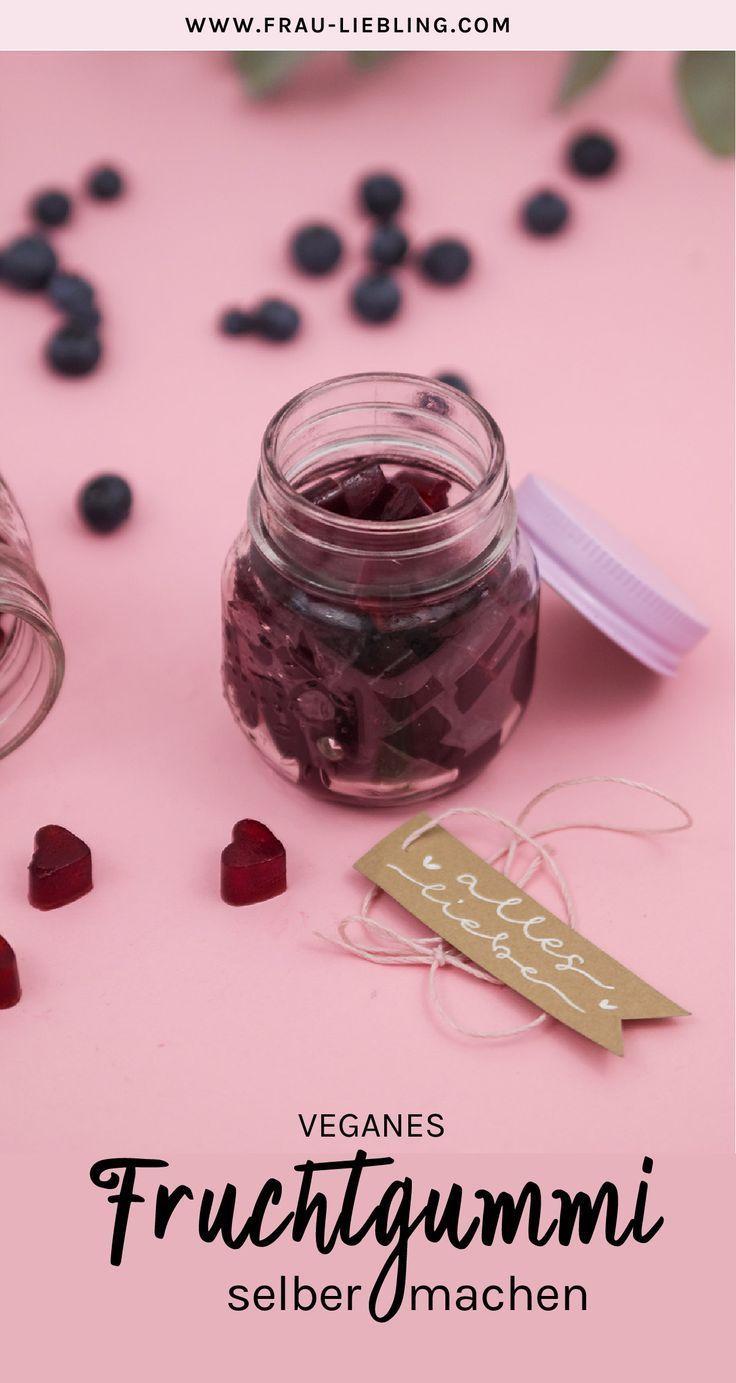 Veganes Fruchtgummi selber machen – einfaches Rezept