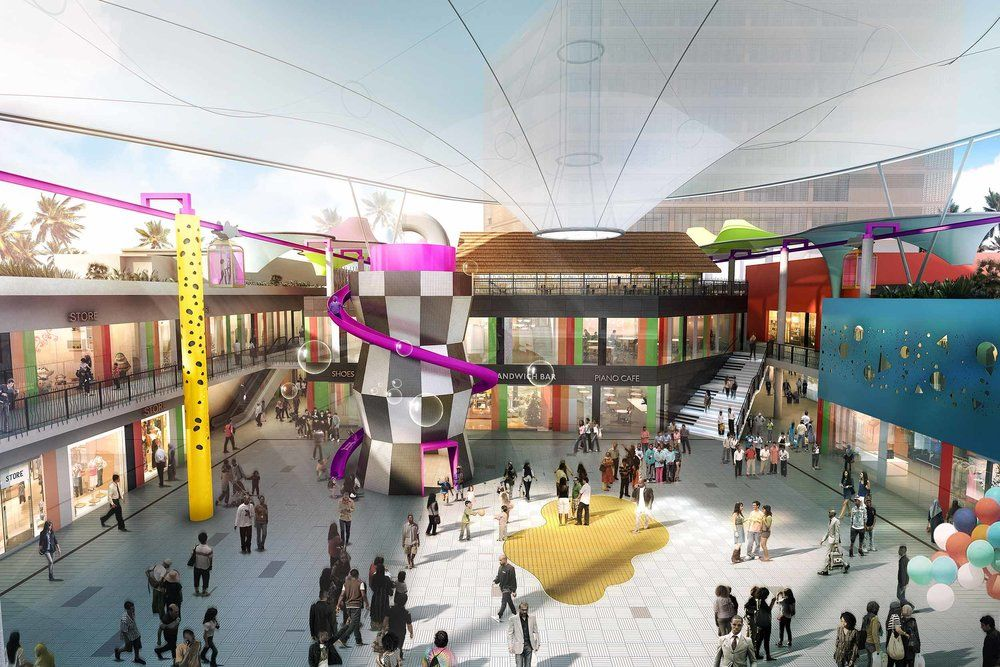 Nairobi S Garden City Mall Developed By Uk Based Private Equity