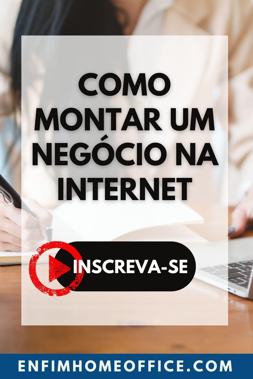 Saiba como trabalhar em casa pela internet