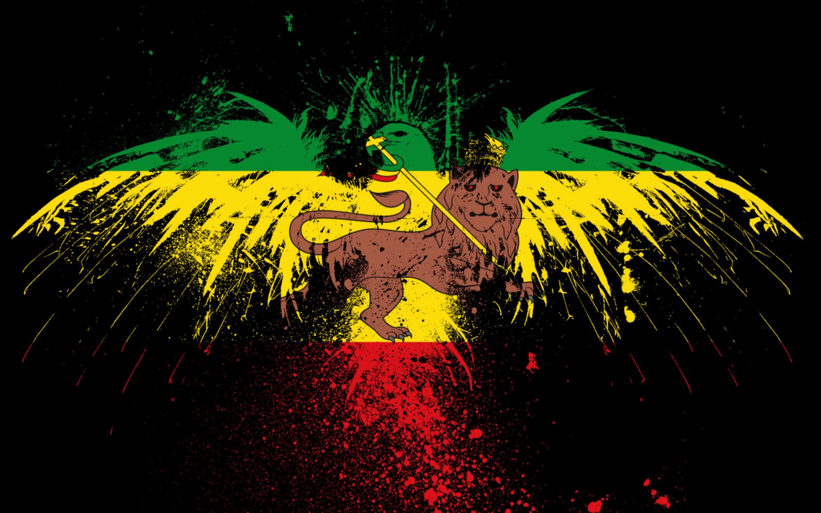 Epingle Par Yoda Sur Flags Musique Reggae Fond D Ecran Lion Lion Rasta