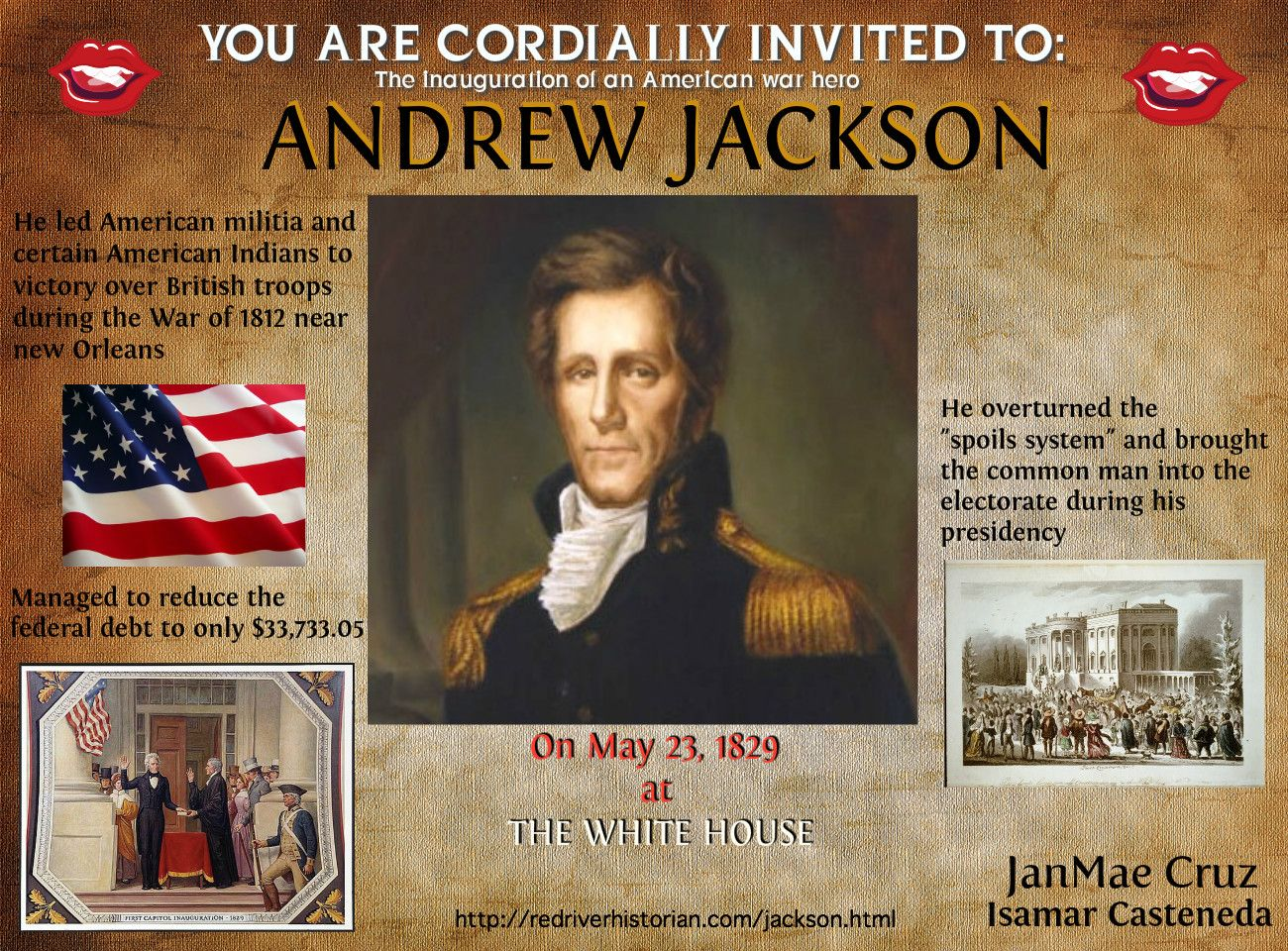 andrew jackson an ideal president for Facts, information and articles about andrew jackson, the 7th us president andrew jackson facts born march 15, 1767 died june 8, 1845 spouse rachel jackson.
