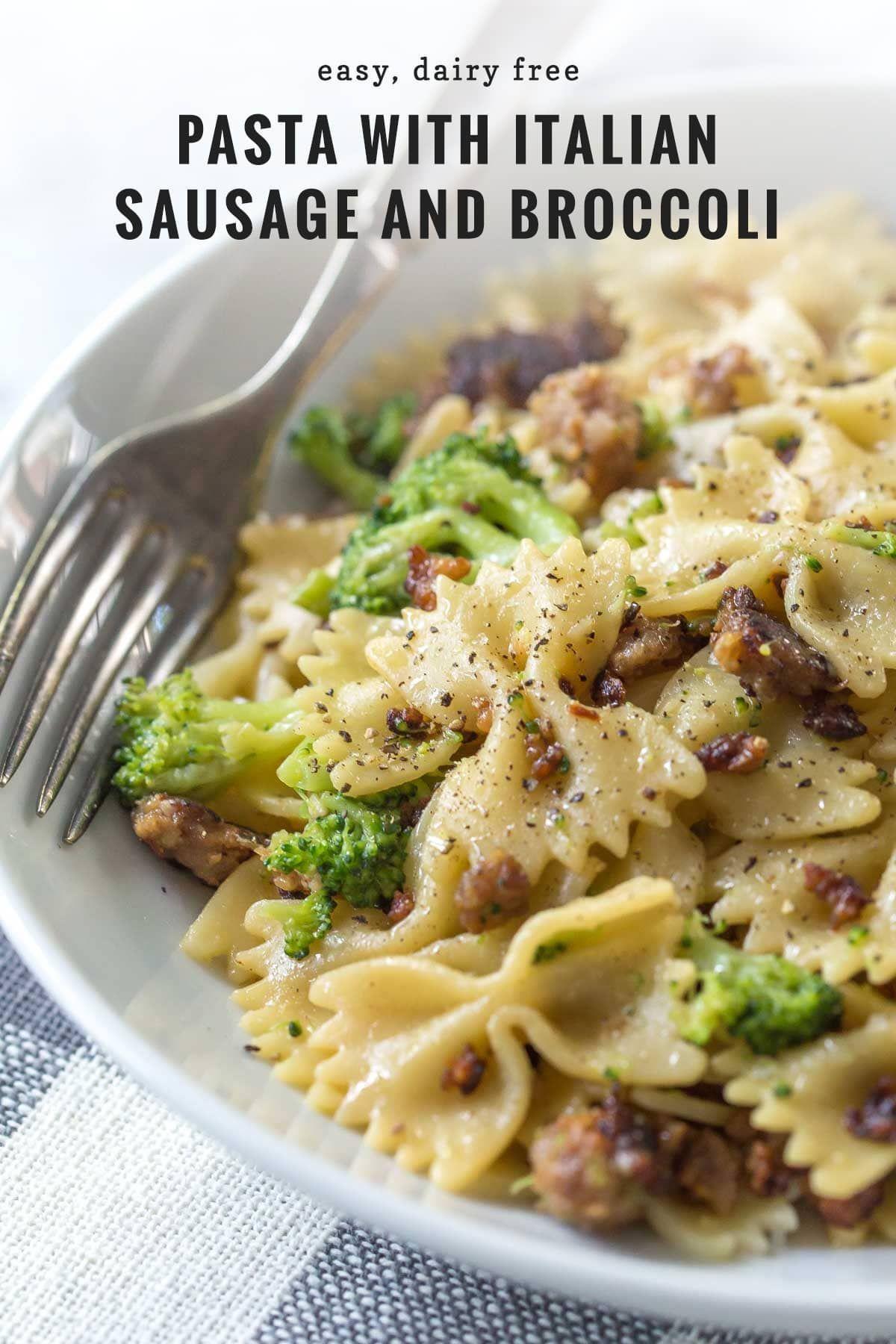 Photo of Cette recette facile de pâtes aux saucisses italiennes et au brocoli est savoureuse et da …