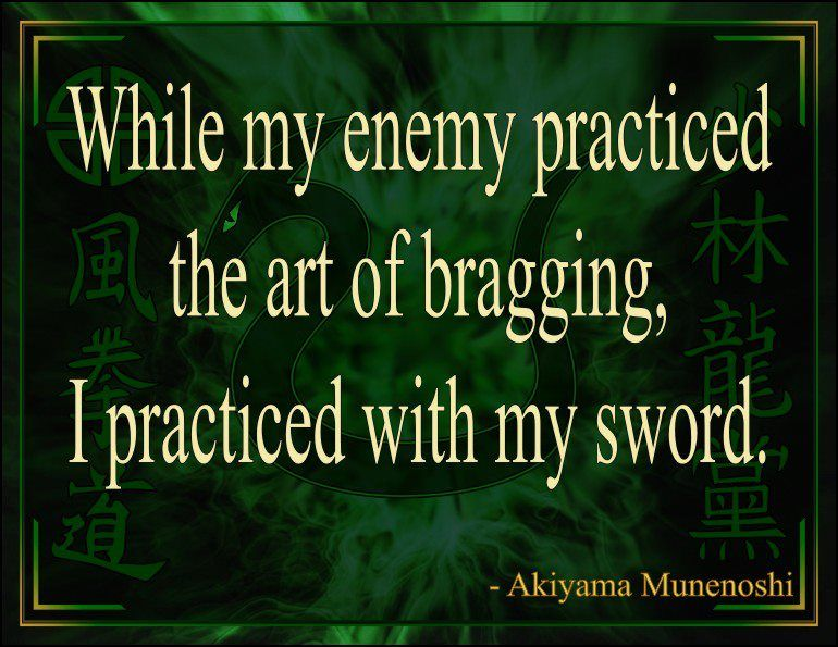 While My Enemy Martial Arts Quotes Wise Quotes Enemies Quotes