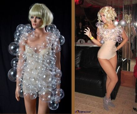 Lady Gaga Bubble Dress Costume Ideas #Lady Gaga Halloween Costume ...