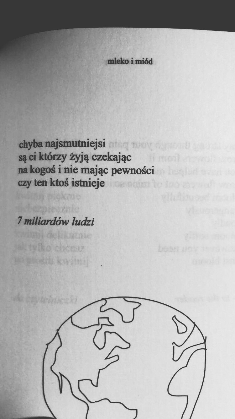 Cytat Mleko I Miod Funny Quotes Poetry Words Quotations