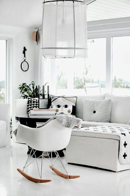 The Design Chaser Homes To Inspire White Flooring Living Room Scandinavian Home Living Room Home