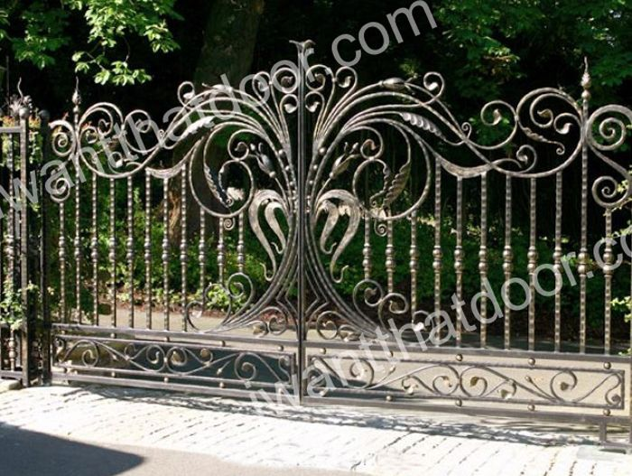 Custom Wrought Iron Gates 33 Wrought Iron Gates Iron Gates