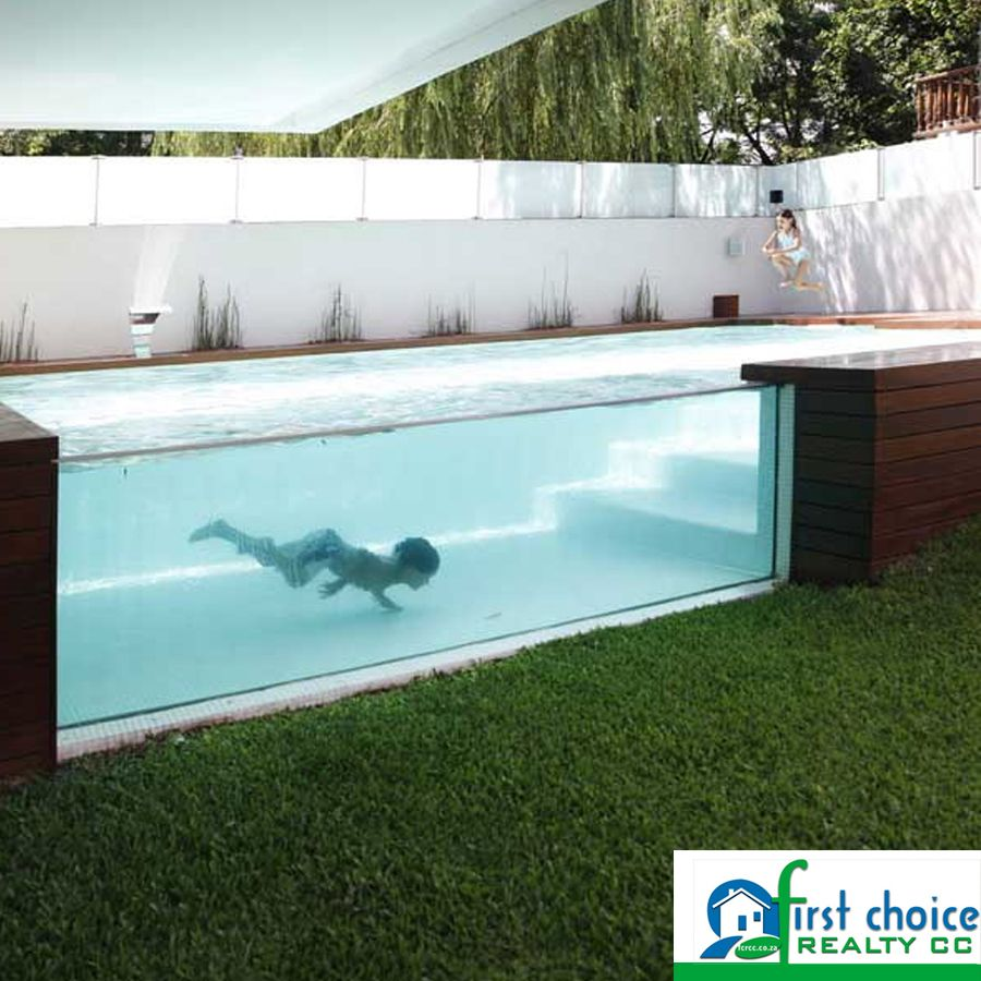 A See Through Above Ground Pool What Do You Think About This Pool