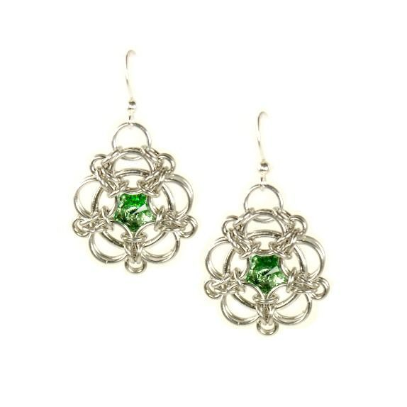 Aura 5 Captive, peridot green via BeChained. Click on the image to see more!