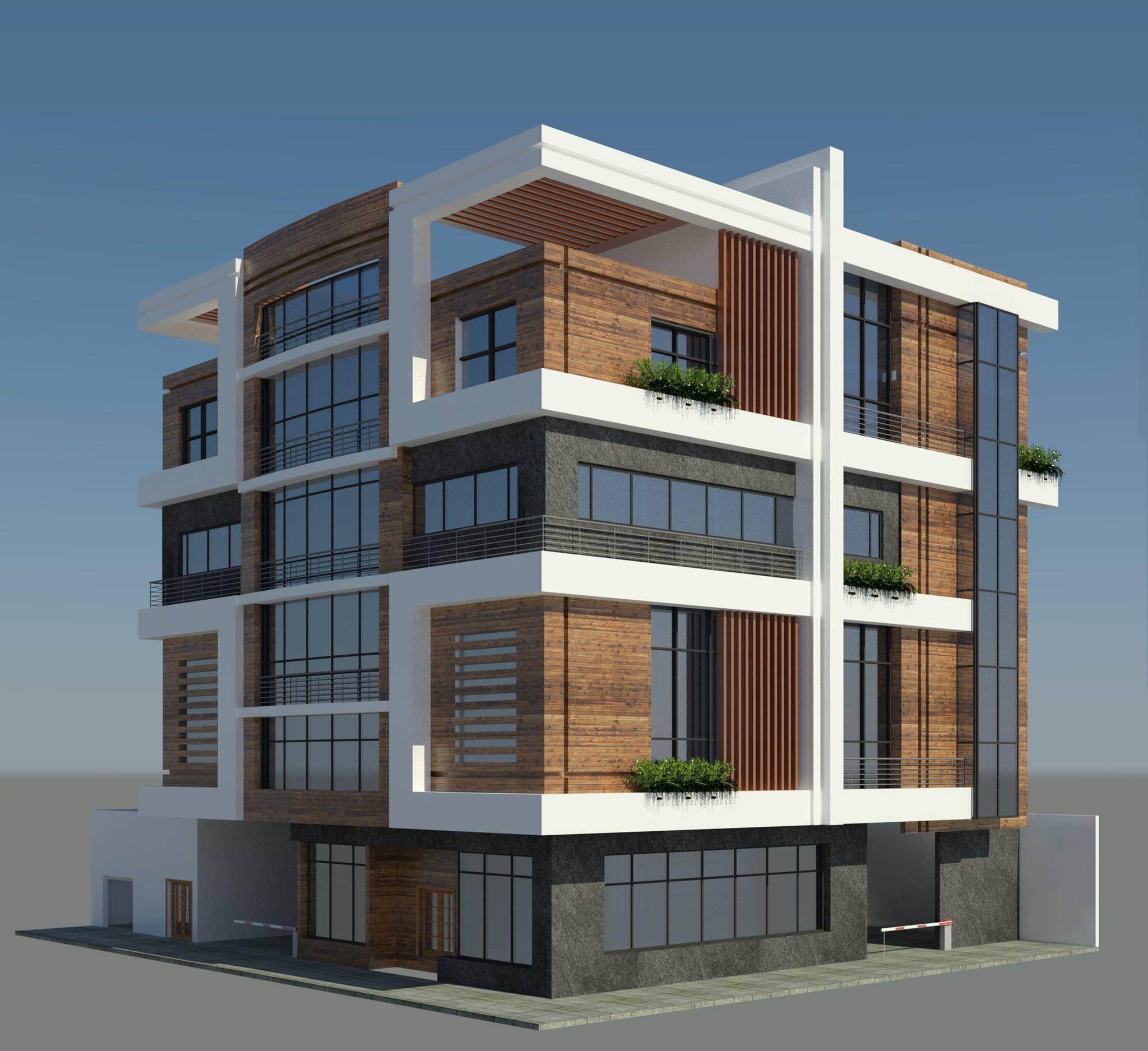 my design -  Residential Building - Makkah - منازل مكة للاستشارات الهندسية