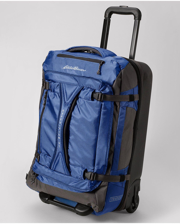 Travex Expedition Medium Rolling Duffel Bag Eddie Bauer Duffel Bags Leather Briefcase Men