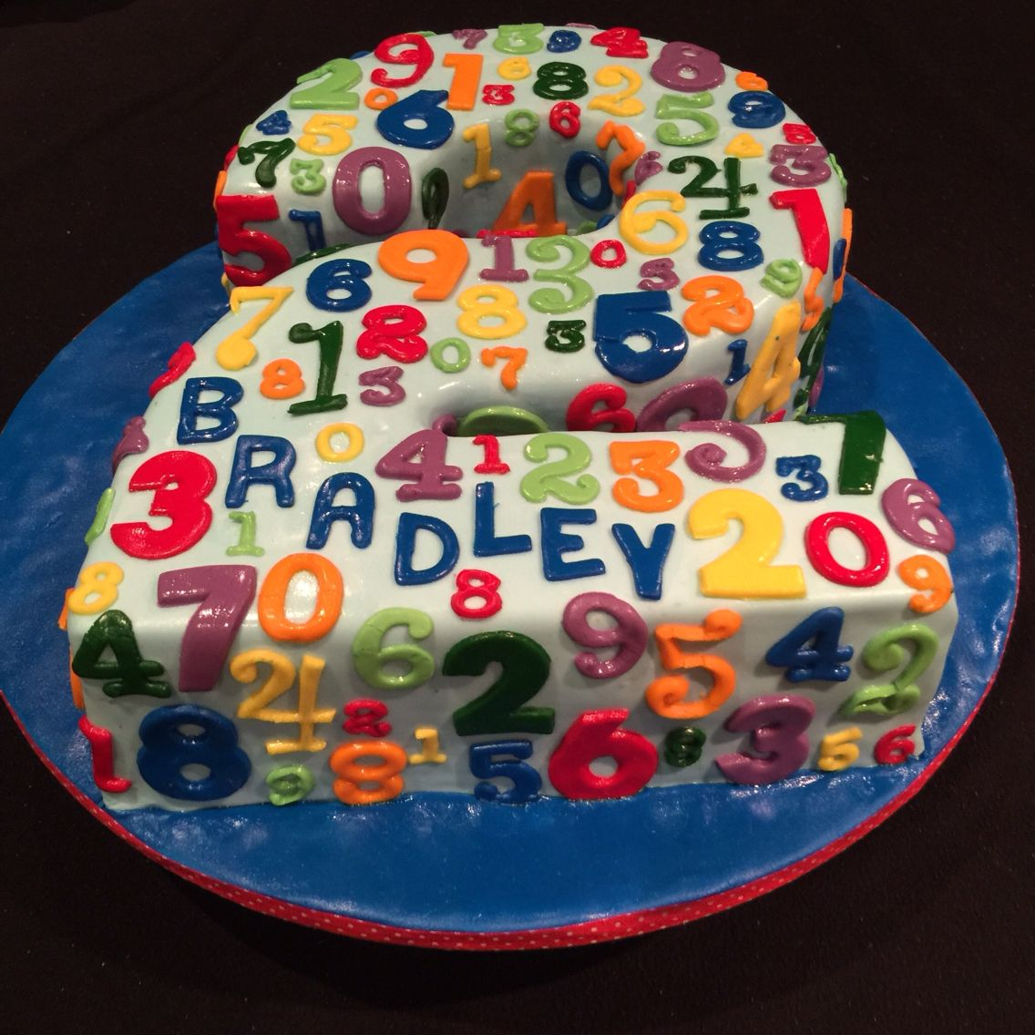 Number 2 Numbers And Counting Cake In 2021 Birthday Cake Kids Cake Cake Design