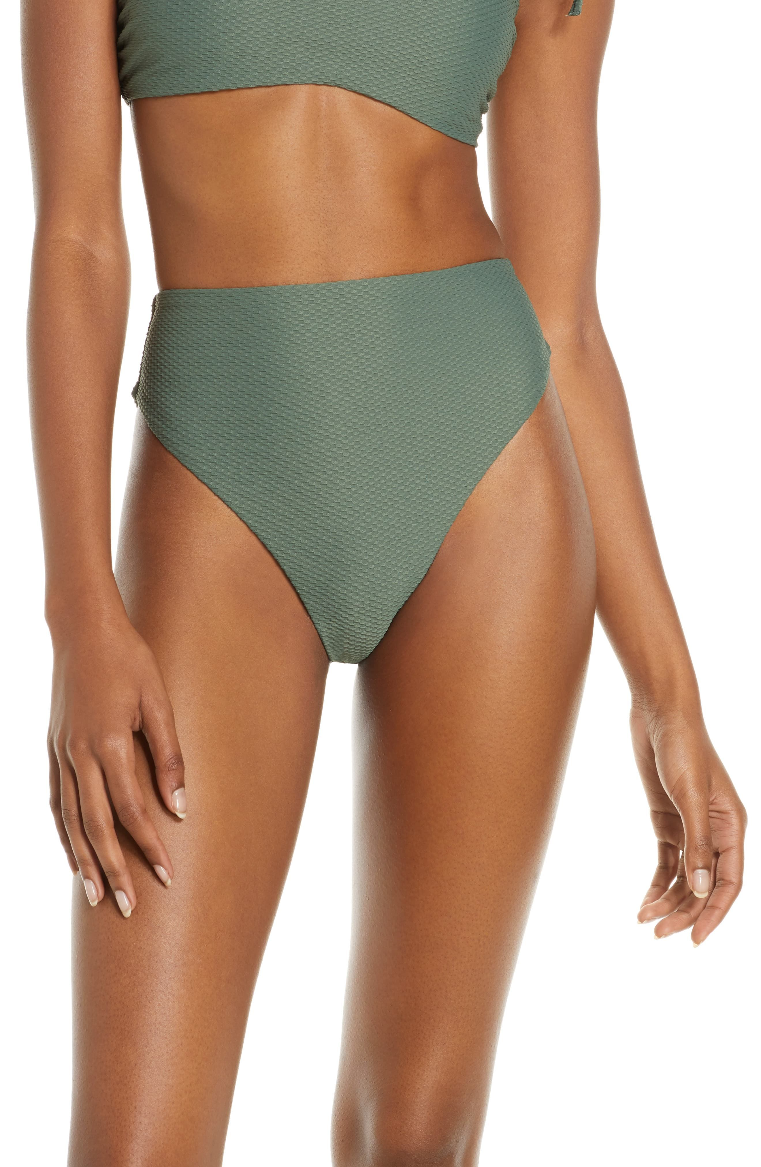 2fb33bce1 Women's Chelsea28 Easy Retro High Waist Bikini Bottoms, Size XX-Large -  Green