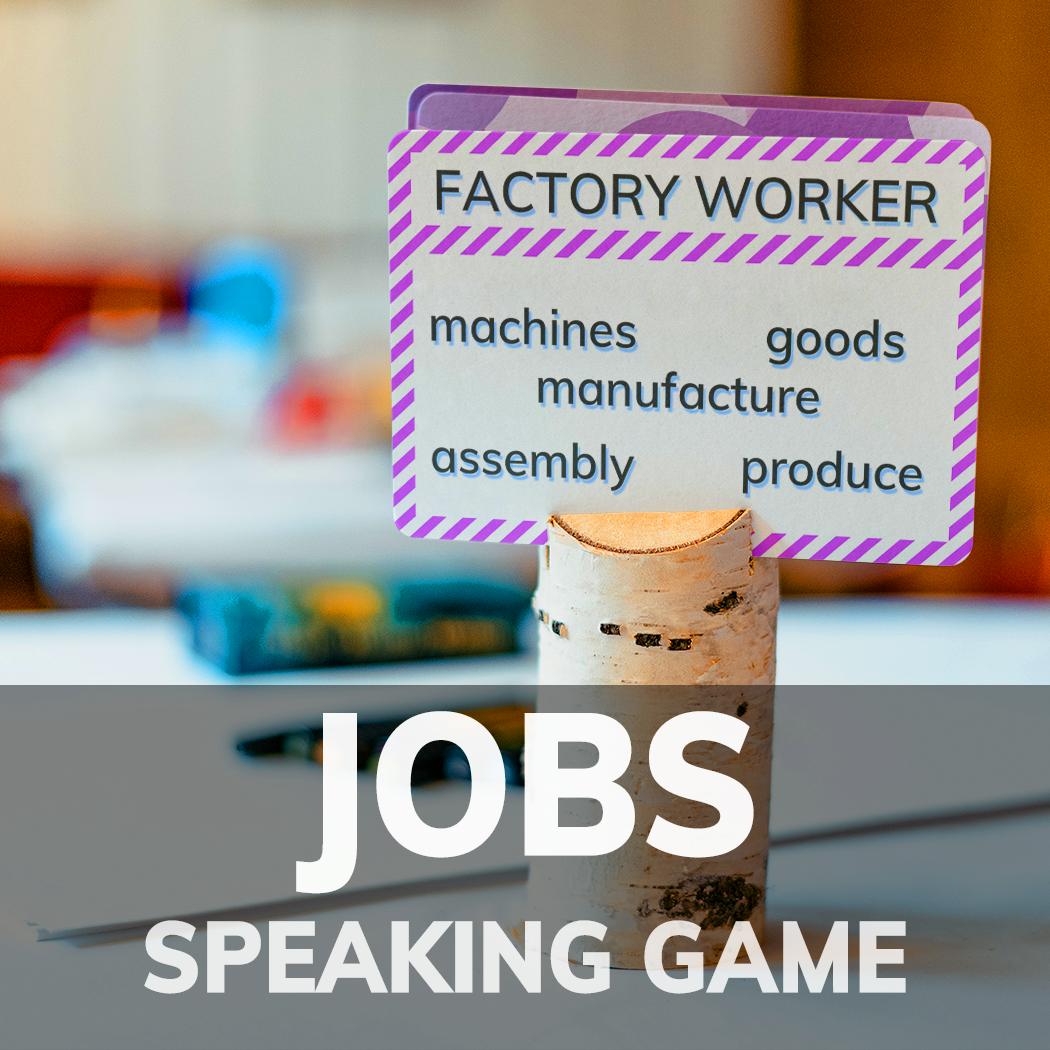 Jobs 2 Taboo Esl Eal Efl