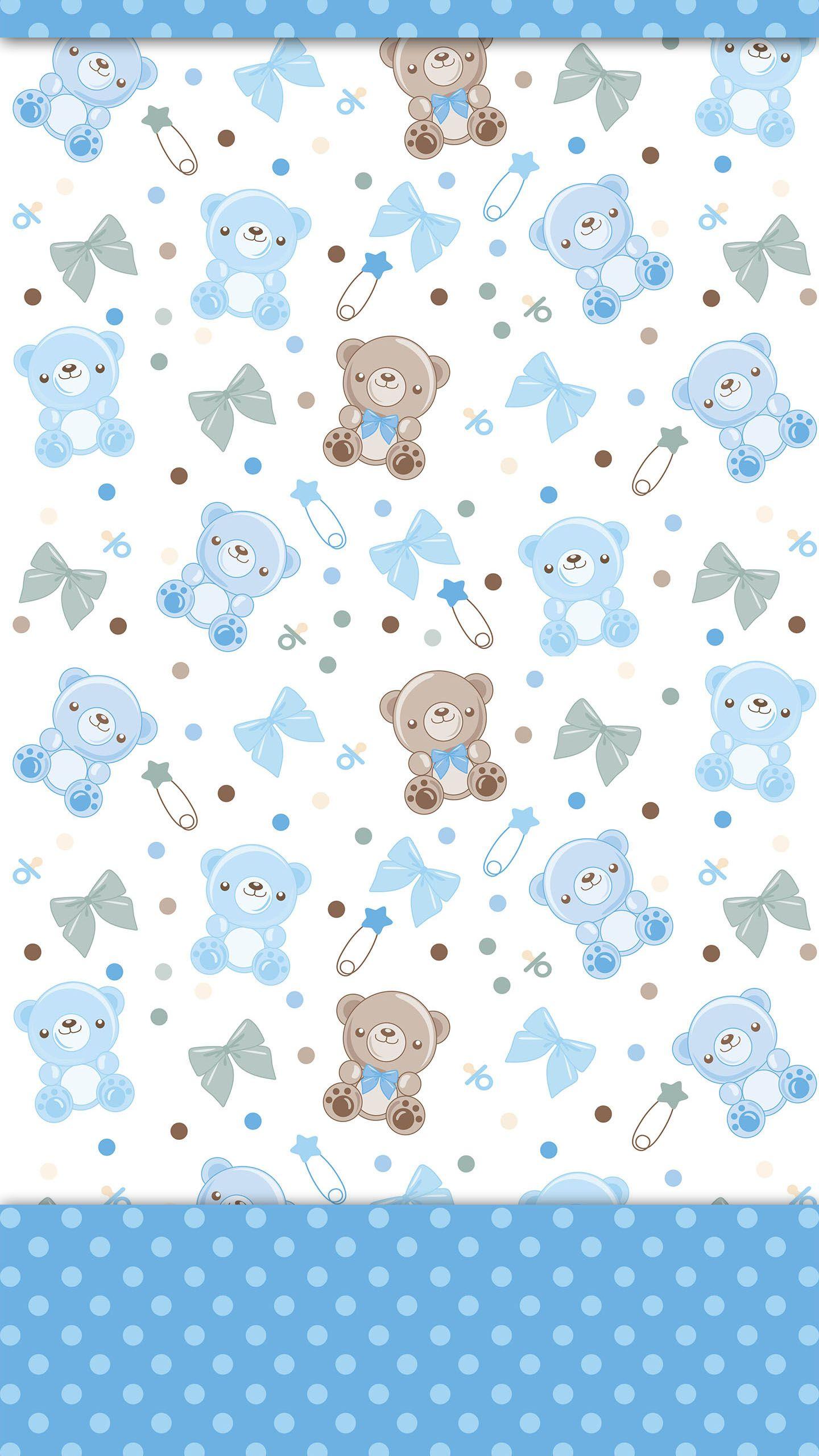 Ositos diy pinterest osos fondos y papel for Papel tapiz infantil