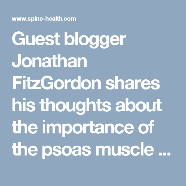 15+ The Essential Role of the Psoas Muscle
