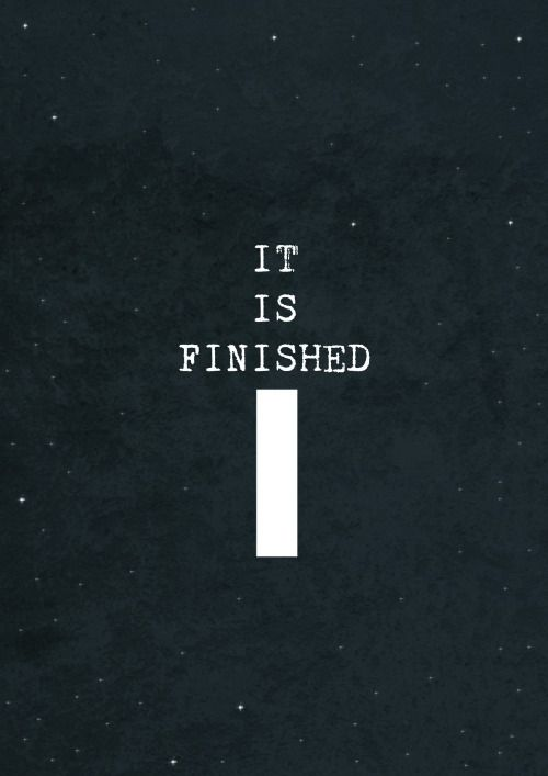 It Is Finished Good Friday