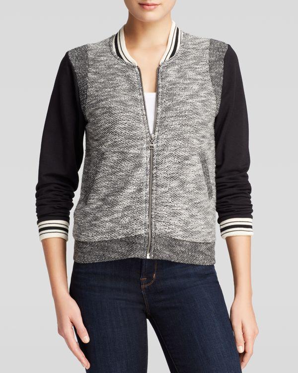 Splendid Jacket - Varsity Color Block
