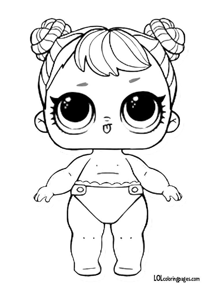 Vrqt Lol Doll Coloring Pages Baby Coloring Pages Lol Dolls Unicorn Coloring Pages