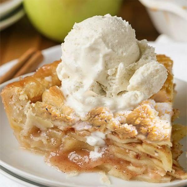 Rustic Apple Streusel Pie