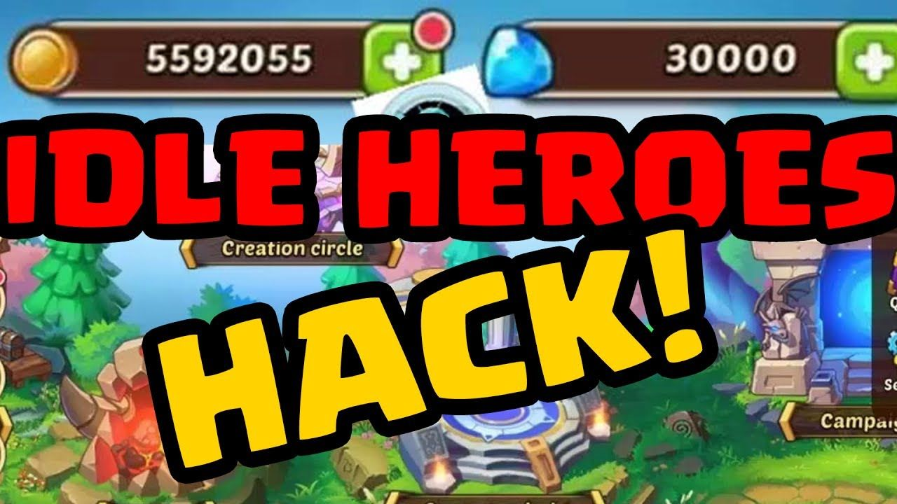Hack Idle Heroes Apk Get Unlimited Gems Spirit Heroic Summon And Hero Promotion Stone No Survey Idle Heroes Hack And Cheats Tool Hacks Hero Cheating