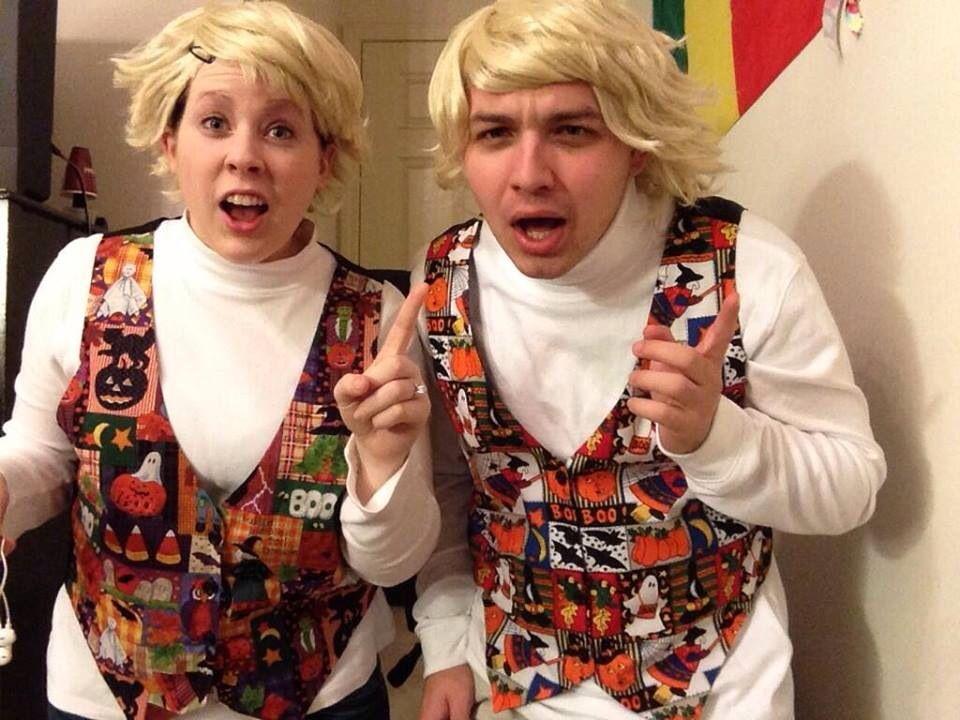 Garth & Kat | Creative Costumes | Diy halloween costumes