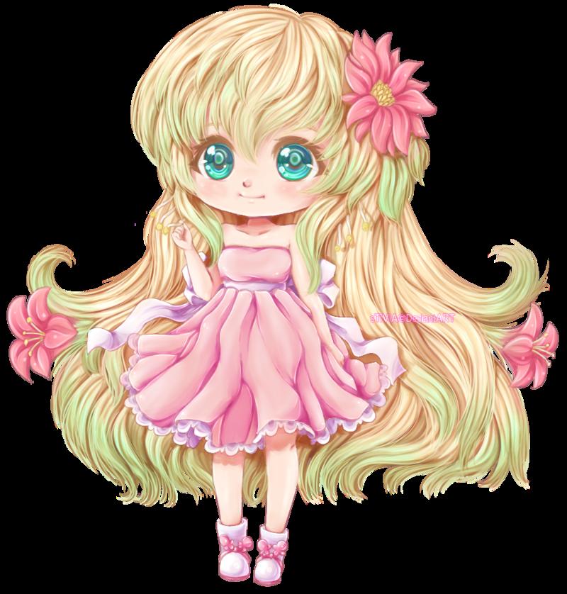 Spring Cute anime chibi, Chibi anime kawaii, Anime chibi