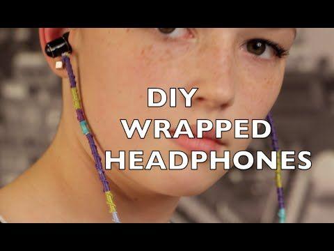 DIY Wrapped Headphones - YouTube
