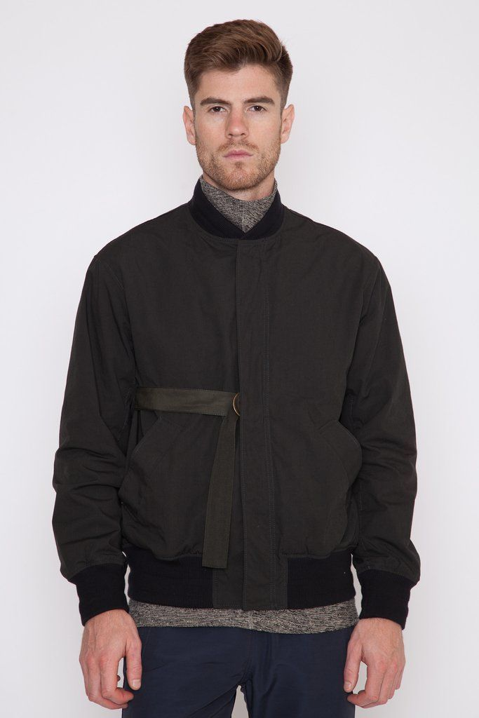 c43c76a1c Massimo Strapped Bomber | MEN'S AW16 | Jackets, Bomber jacket ...