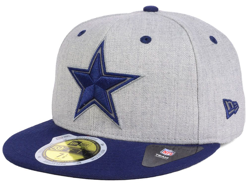 LIDSExclusive Dallas Cowboys New Era NFL Total Reflective 59FIFTY Cap 1ea5e6ab6