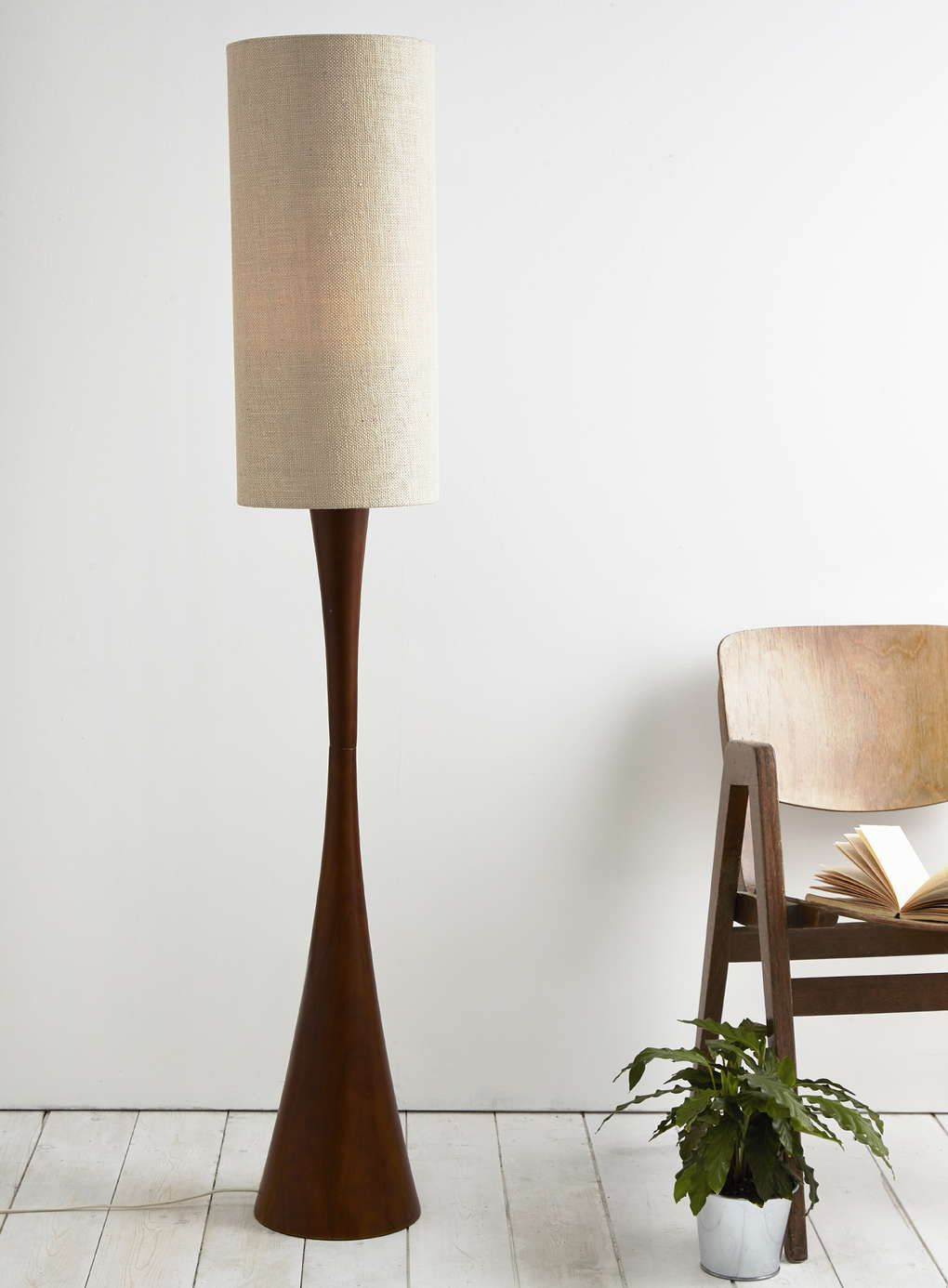 Wood Carden Floor Lamp Lampshades Made With Love