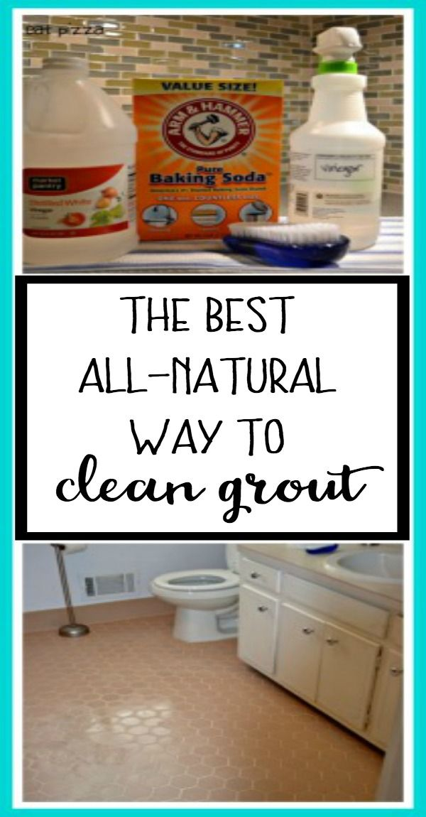 Best All Natural Way To Clean Grout The Diy Bungalow With