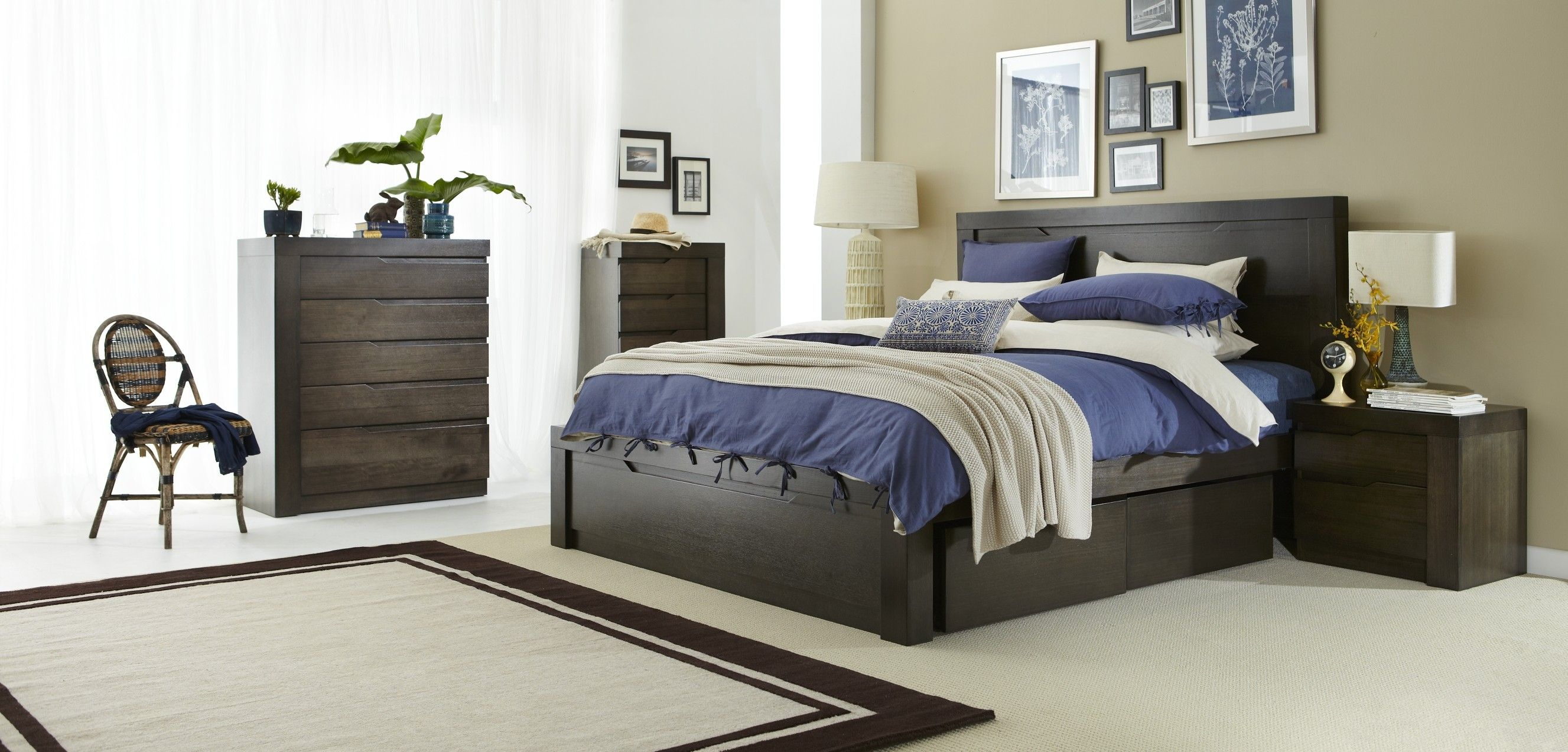 Solander Bedroom Furniture The Contemporary Lines Of The Solander Are Accentuated By Its Beautiful Tasma Bedroom Furniture Furniture Bedroom Furniture Suites