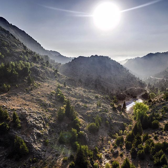 en route to Tannourine by Christian Ghammachi