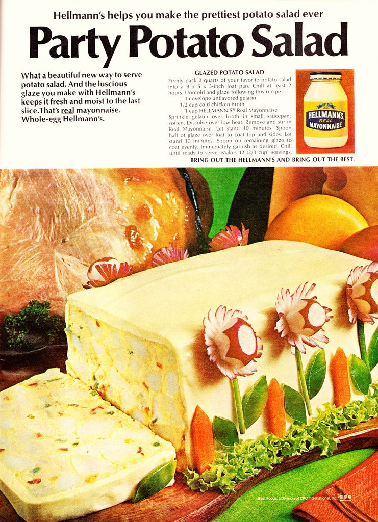 Hellmann's Recipe For Potato Salad