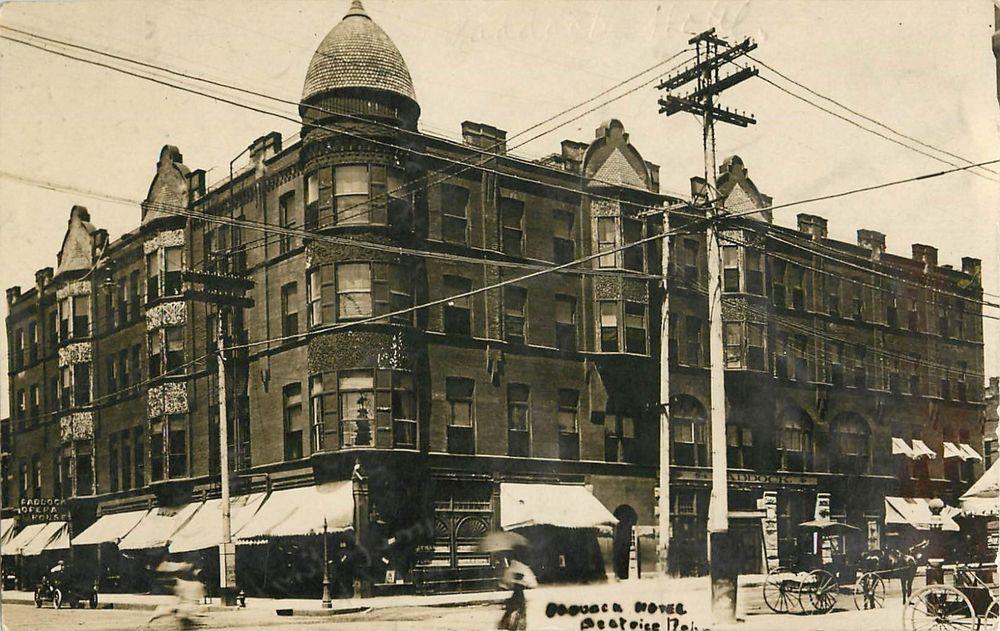 1909 Paddock Hotel Beatrice Nebraska